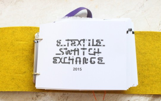 DRAWING SENSORS - E-TEXTILES SWATCH BOOK 2015