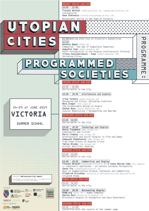UTOPIAN CITIES, PROGRAMMED SOCIETIES