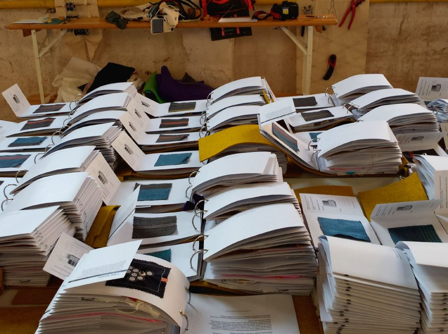 TEXTILE SENSORS & SENSORS ICONOGRAPHY (2015)